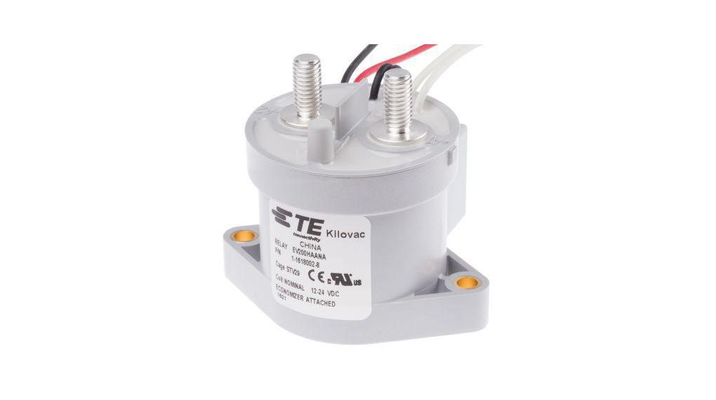 s TE CONNECTIVITY 1618002-7 Industrial Relays SPST-NO 9-36VDC 200A 1 item