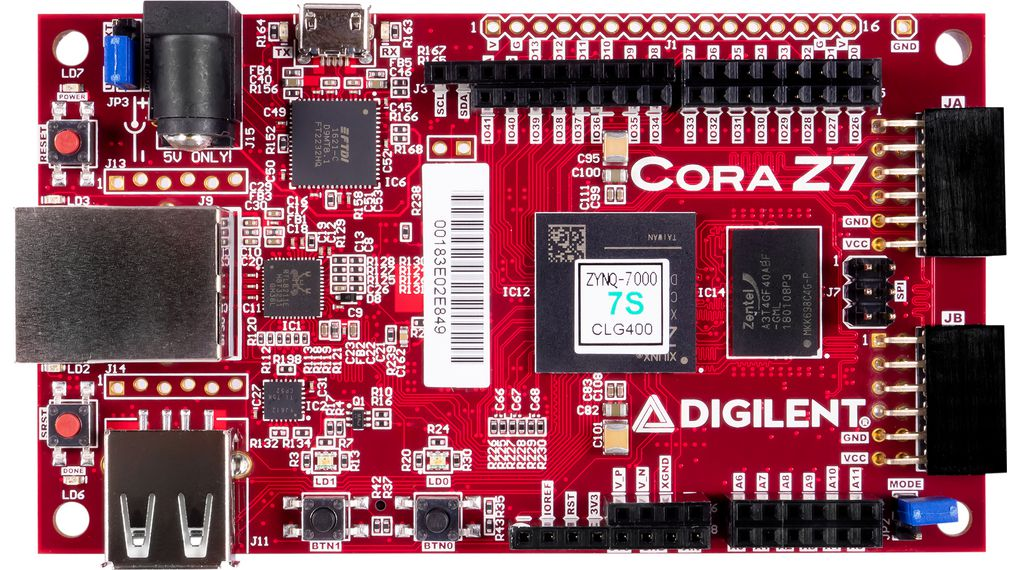 Cora Z7-07S Zynq-7000 Digilent Cora Z7-10 Zynq-7000 Single Core 410-370