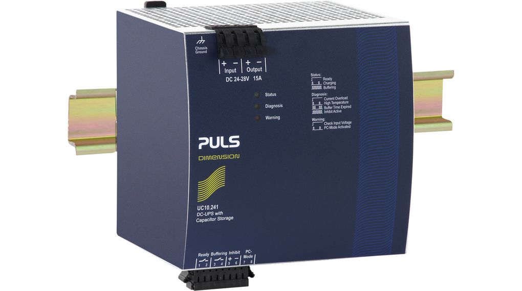 Diagnosemodul Industrial Power Supplies 124 mm DIN-Schienenmontage kaufen