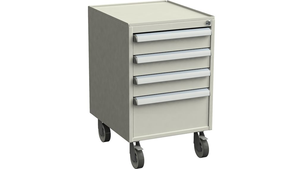60641023 Treston Drawer Cabinet With, Cabinet On Wheels