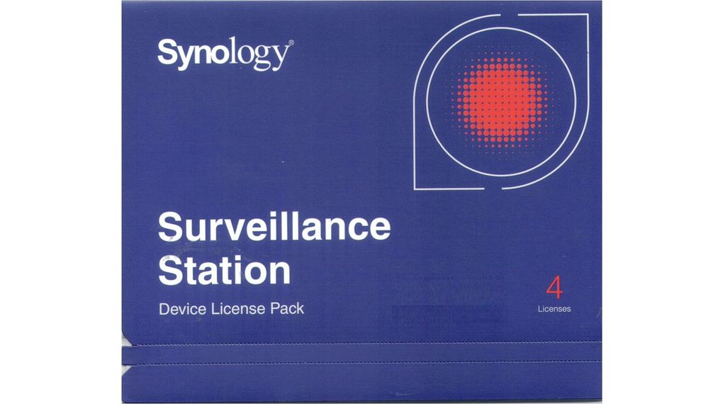 Licence for 4 additional IP cameras