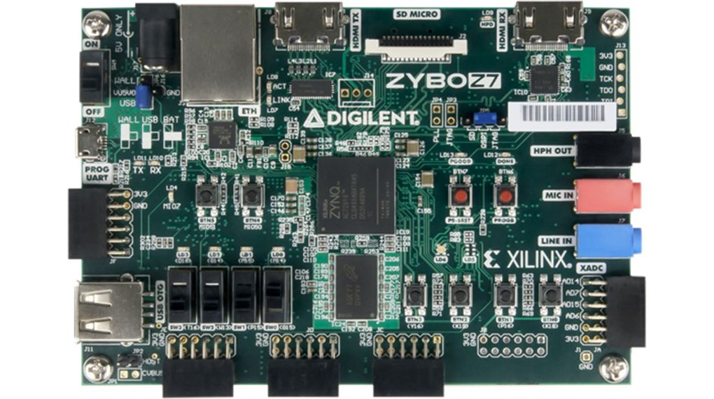 Zybo Z7-10 FPGA Development Board CAN/Ethernet/I²C/SPI/UART/USB