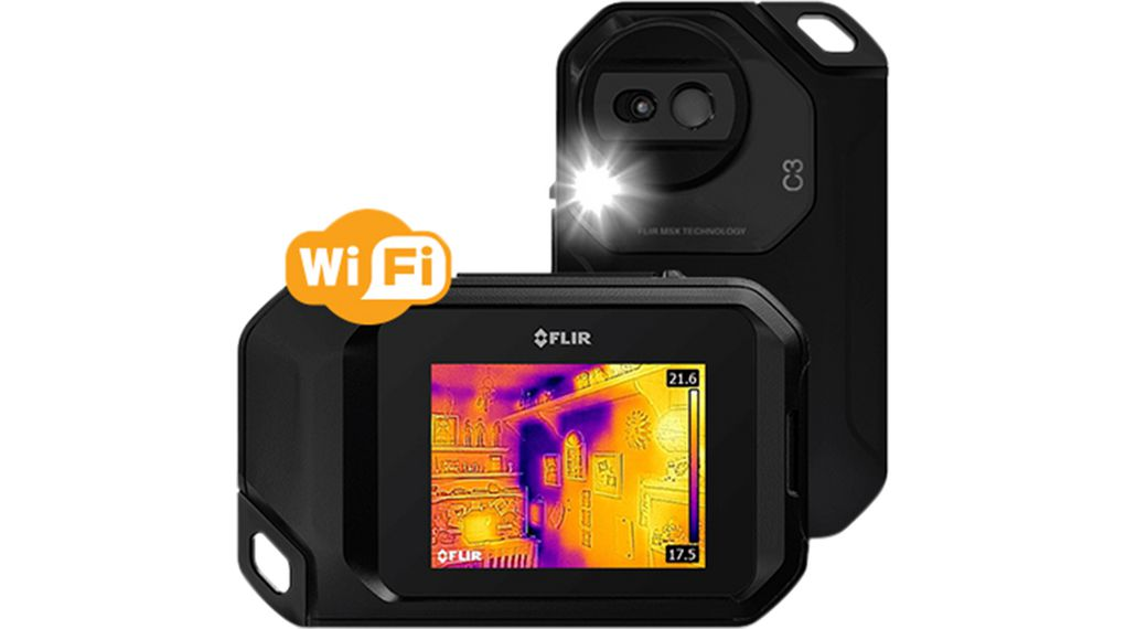 Buy Thermal Imager 80 x 60, 41° x 31°, -10...+150 °C