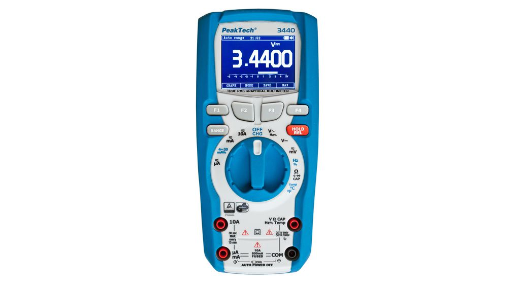 Buy Graphical Multimeter TRMS AC + DC 1000 VAC