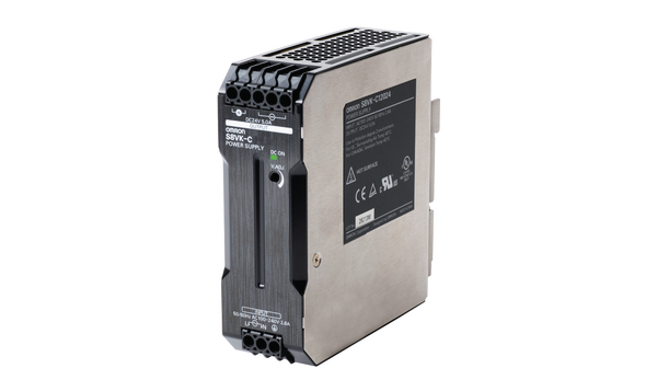 S8vk C12024 Omron Industrial Automation Din Rail Power Supply 24v 5a 120w Adjustable Distrelec Germany