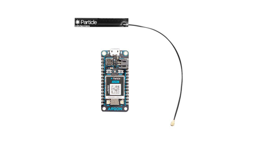 Particle Argon nRF52840 with Mesh and WiFi