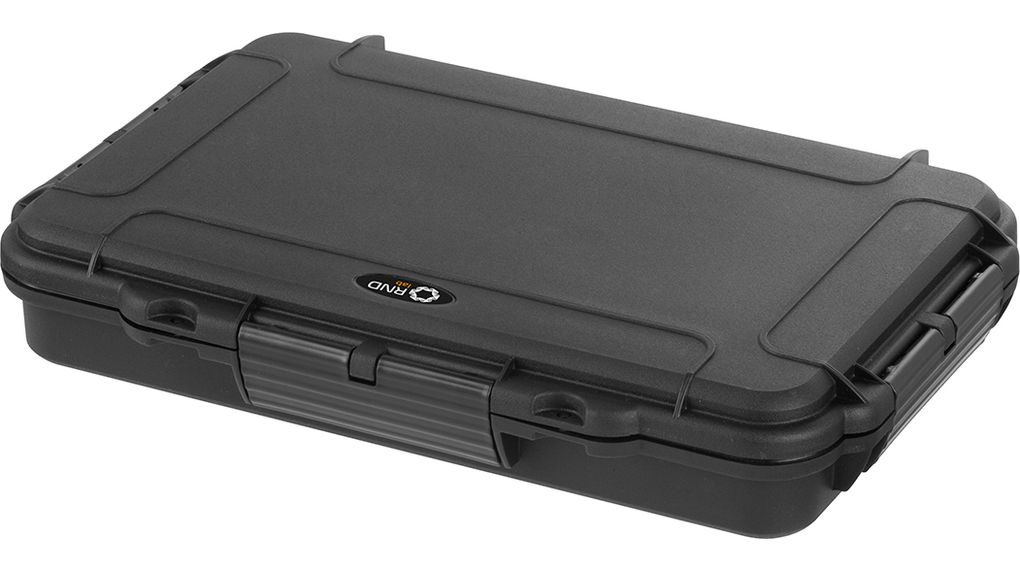 Buy Waterproof Case, black 350 x 230 x 59 mm, Polypropylene