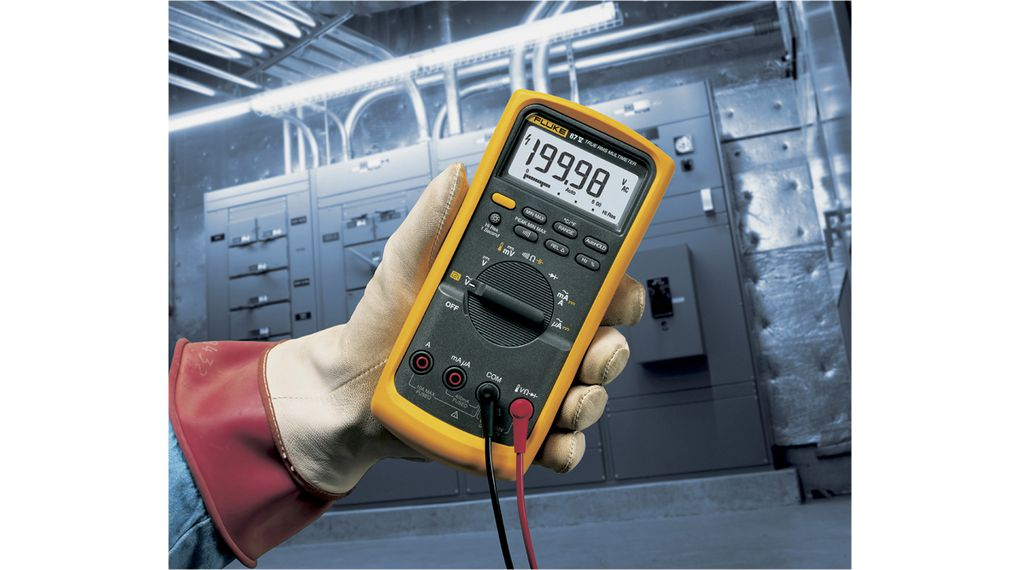 Fluke 87 V True-RMS Industrial Digital Multimeter FLUKE 87 V
