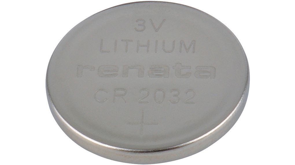 Buy Button Cell Battery, Lithium Manganese Dioxide 3 V 225 mAh