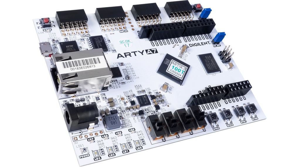 Arty A7-100T FPGA Development Board Ethernet/JTAG/SPI/UART/USB