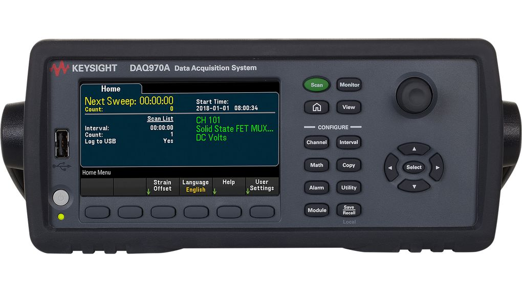 Data Acquisition System 3-Channel