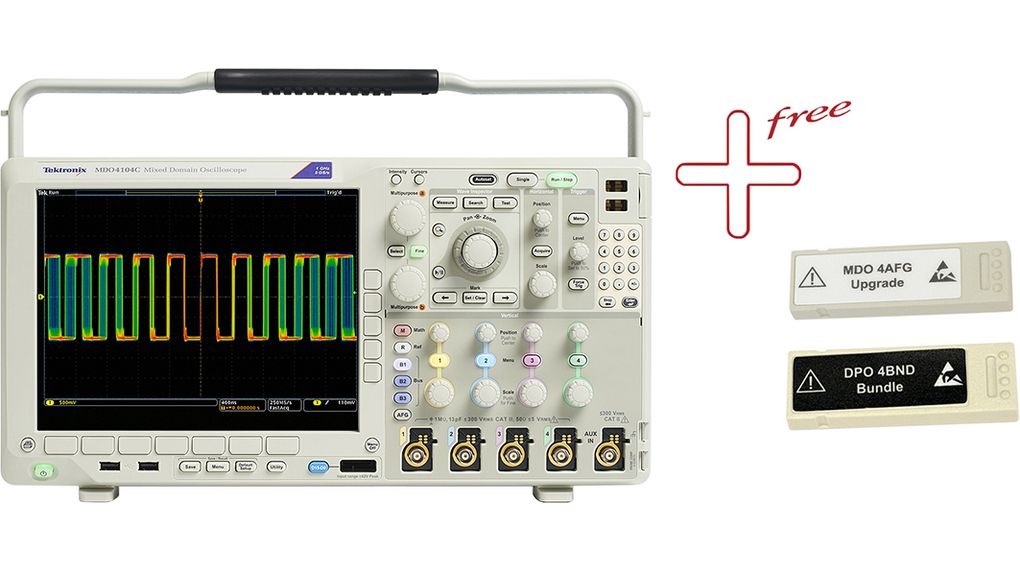 Buy Oscilloscope 4x500 MHz 2.5 GS/s