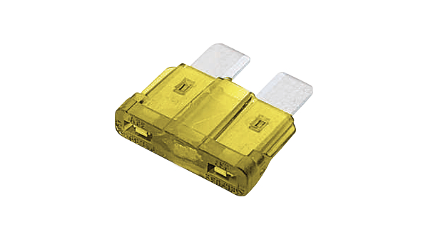 Buy Automotive fuse 20 A 32 V Yellow