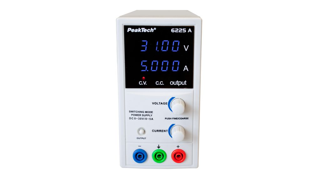 Buy Bench Top Power Supply, 30 V, 5 A DC Current