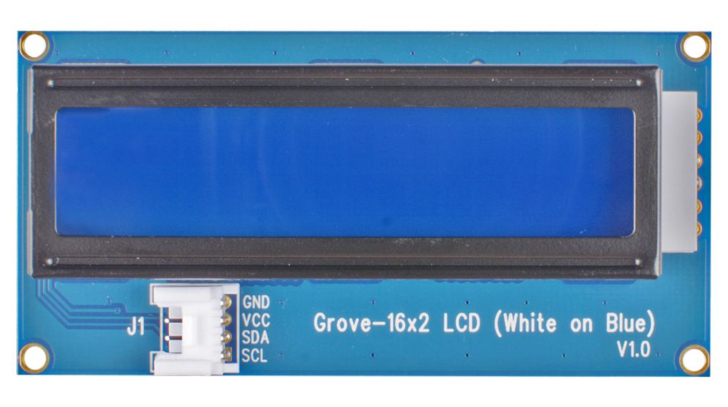 Buy Grove 16 x 2 LCD White on Blue