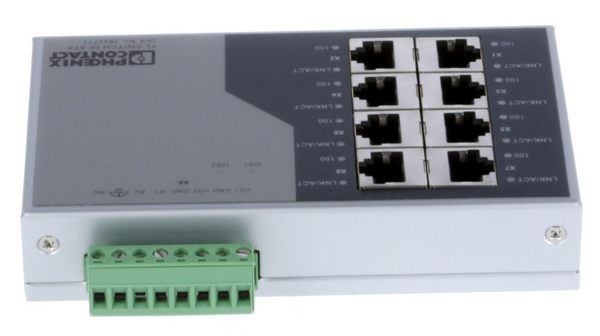 Buy Industrial Ethernet Switch 8x 10/100 RJ45