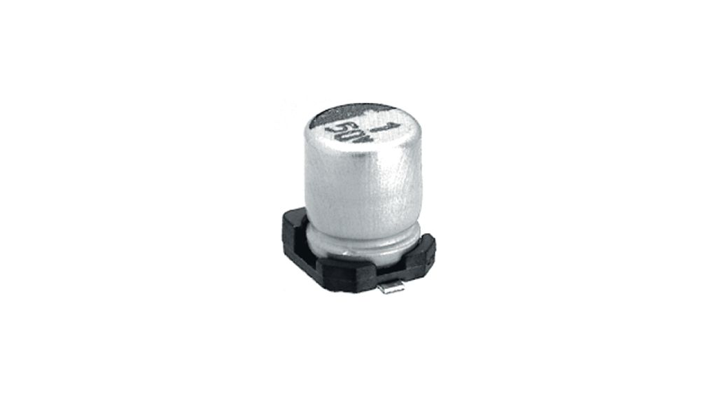 SMD Electrolytic Capacitor 100 uF 50 VDC