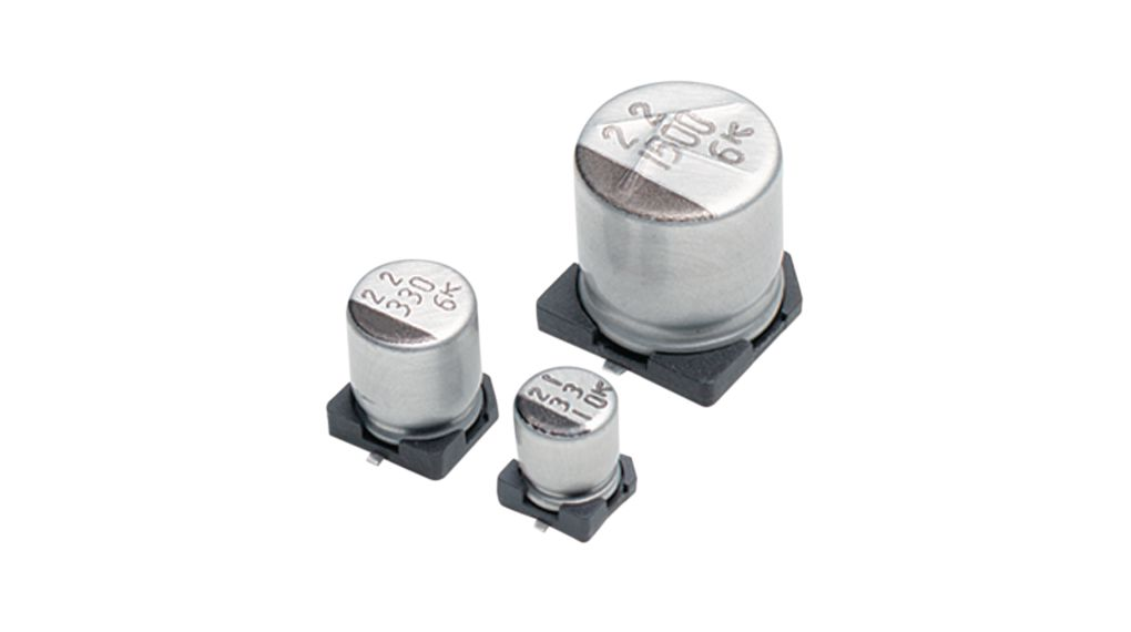 SMD Electrolytic Capacitor 33 uF 100 VDC