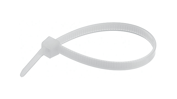 Buy Cable Tie 2.5 mm 100 mm Natural Pack of 100 pieces