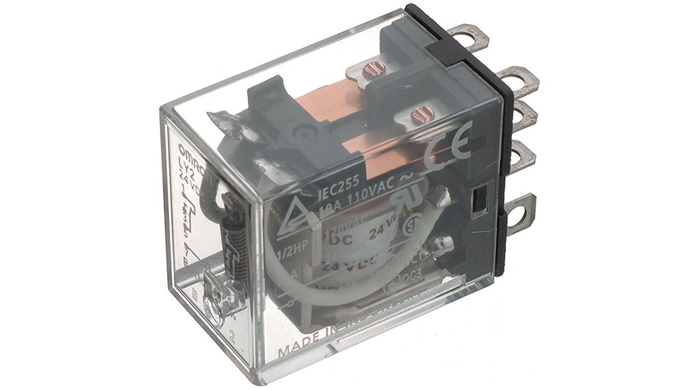 Industrial Relay AC AC on