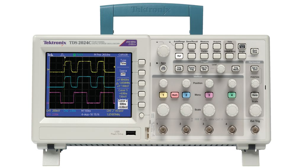 Buy Oscilloscope 4x200 MHz 2 GS/s
