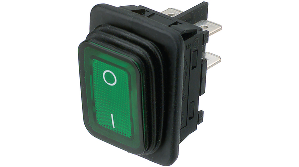 Buy Rocker Switch DPST 20 A 250 VAC