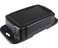 Buy Flanged Enclosure 88.9x139.7x38.1mm Black Polycarbonate IP66