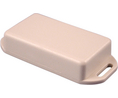 Buy Miniature Flanged Plastic Enclosure 35x76.3x15mm Grey ABS IP54