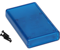 Buy Instrument Case 112x66.5x21mm Transparent Blue ABS IP54