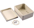 Buy Plastic Enclosure 105x145x65mm Light Grey ABS/Polycarbonate IP65