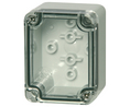 Buy Plastic Enclosure Clear Transparent Cover 45x65x50mm Polycarbonate IP66/IP67