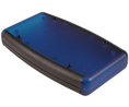 Buy Soft Sided Handheld Enclosure 79x117x24mm ABS Black / Translucent Blue