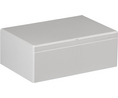 Buy Plastic Enclosure 160x91x240mm Grey Polycarbonate IP66/IP67