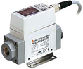 Buy Digital flow switch 2.5...52.5 l/min 2 x NPN G1/4
