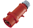 Buy CEE phase shifter plug Pro-TOP Red 16 A/400 VAC
