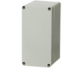 Buy Plastic Enclosure, Polycarbonate, Grey Cover, 160x55x80mm, Light Grey