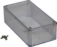 Buy Multipurpose FRPC Enclosure 150x80x50mm Clear Polycarbonate IP54