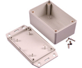 Buy Multipurpose FRABS Enclosure, Flanged Lid 57.88x36x39mm Grey ABS IP54