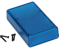 Buy Instrument Case 112x66.5x28mm Transparent Blue ABS IP54