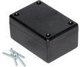 Buy Plastic Enclosure 167x107x53mm Black ABS IP54