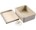Buy Plastic Enclosure 125x165x75mm Light Grey ABS/Polycarbonate IP65