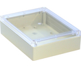 Buy Plastic Enclosure with Clear Lid 165x220x60mm Light Grey ABS/Polycarbonate IP65