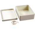 Buy Plastic Enclosure 146x186x75mm Off-White Polycarbonate IP65