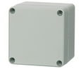 Buy Plastic Enclosure, Polycarbonate, Grey Cover, 82x55x80mm, Light Grey