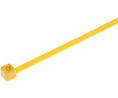 Buy Cable Tie 2.5 mm 100 mm Yellow Pack of 1000 pieces