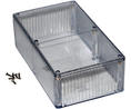 Buy Multipurpose FRPC Enclosure 190x110x60.5mm Clear Polycarbonate IP54