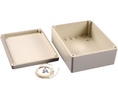Buy Plastic Enclosure 146x186x75mm Light Grey ABS/Polycarbonate IP65