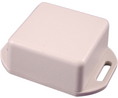 Buy Miniature Flanged Plastic Enclosure 40x56.3x20mm Grey ABS IP54