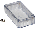 Buy Multipurpose FRPC Enclosure 112x62x30.8mm Clear Polycarbonate IP54