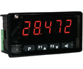 Buy Panel Meter, Pt100, 0...5/10 V / 0/4 ... 20mA / 0...50 mV, 16 mm, 100...240 VAC, 5 digits